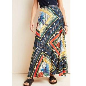 Anthropologie Farm Rio Vieques maxi skirt size XS